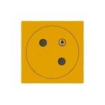 Prise de courant - 2P+T - Surface - Jaune - Legrand 077196L