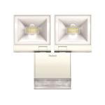 Projecteur à LED - Avec détecteur - Theben Theleda S - 20 Watts - Blanc - Theben 1020983