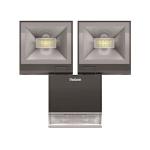 Projecteur à LED - Avec détecteur - Theben Theleda S - 20 Watts - Noir - Theben 1020984