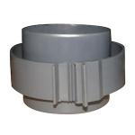 Raccord Droit - Pour Gaine Pee - Diamètre 160 mm - Atlantic 461001