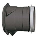 Manchon Court - A Griffes - Avec Manchette - Diamètre 125 mm - Atlantic 520025