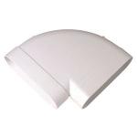 Coude - 90 degrès - minigaine 60 x 200 mm - Horizontal - Aldes 11023973