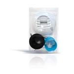 Kit bouche d'extraction Autoréglable - WC - Diamètre 80 mm - 5 / 30 m3/h - A Pile - Atlantic 526595