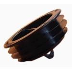 Bouchon pour Gaine TPC - JANOFLEX PLUS - Diamètre 63 mm - Noir - Elydan 14116
