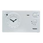 Thermostat d'ambiance - Programmable - Avec réserve de marche - 2 - Theben 7820030