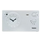 Thermostat d'ambiance - Programmable - 2/3 Fils - 24H 7J - Theben 7840030