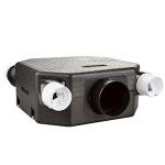 Kit VMC - Unelvent DECO FLAT - Extra plat - Unelvent 604121