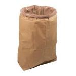 Sac à ordures de chantier - Renforcé - En papier + plastique à l'intérieur - Bizline 730952