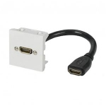 Plastron HDMI - Raccord Femelle - 0.15 Mètre - Erard 2802