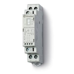 Contacteur modulaire - 48V AC/DC - 2 contacts NO - 25A - Indicateur - Finder 223200484340PAS
