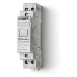 Télérupteur - Modulaire - 2 contacts NO - 16A - 110V DC - Finder 202291100000PAS
