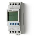 Horloge - Hebdomadaire - Digital - 2 contacts 16A - Avec réserve de marche - Finder 129282300000