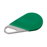 Badge de proximité - Système Hexact - Type porte clé - Vert - Aiphone HECV2V