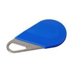 Badge de proximité - Système Hexact - Type porte clé - Bleu - Aiphone HECV2B