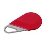 Badge de proximité - Système Hexact - Type porte clé - Rouge - Aiphone HECV2R