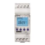 Interrupteur horaire - Digital - 24H / 7J - 2 modules - 1 Contact - 230V - Theben 6100403