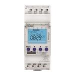 Interrupteur horaire - Digital - 24H / 7J - 2 modules - 2 Contacts - 230V - Compatible Obelis - Theben 6120403
