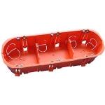 Boite cloison sèche - Capri CAPRICLIPS UNICLIPS - Triple - Entraxe - 71 mm - Capri 731039