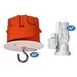 Boite cloison sèche - Capri CAPRICLIPS - Point de centre - Profondeur 55 mm - Diamètre 67 mm - Avec douille DCL - Capri 715859
