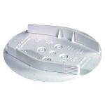 Couvercle de finition - A patte - Diamètre 110 mm - Capri 493450
