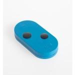 Télécommande - 2 Canaux - Double fréquence - Code fixe - Bleu - Came 806TS-0091