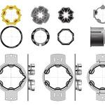 Kit accessoires bloc-baie - Somfy 9013089