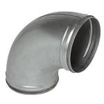 Coude à 90 degrès - A Joint - Diamètre 125 mm - Aldes 11098142