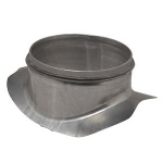 Piquage galvanisé - A Joint - Diamètre 125 / 160 mm - Aldes 11098262