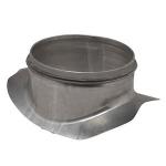 Piquage galvanisé - A Joint - Diamètre 125 / 250 mm - Aldes 11098410