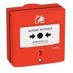 Dispositif manuel d'Alarme DMA à membrane réarmable - 1 contact - URA 357277
