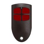 Télécommande 4 boutons - Bi-Technologie - 433 Mhz + 125 Khz - Urmet EHFP4B433