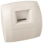 Bouche de ventilation - B21 CURVE S - 5 / 45 m3/h - Diamètre 80 mm - Aldes 11015024