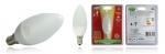Ampoule à LED - Vision-EL - E14 - 4W - 2700K - Flamme - 230 Volts