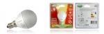 Ampoule à LED - Vision-EL - E14 - 6W - 3000K - P45 - Dimmable - Dépolie - Blister