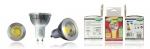 Ampoule à LED COB - Vision-EL - GU10 - 6W - 3000K - Dimmable - 75D - Boite