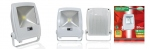 Projecteur extérieur à LED - Vision-EL - 50W - 6000K - Blanc - IP65 - Plat