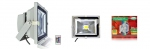 Projecteur extérieur à LED - Vision-EL - 30W - RGB - Gris - IP65 - Télécommande