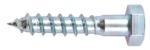 Vis Tire-Fonds - Tête héxagonale - 6 x 60 - Boite de 40