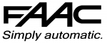 FAAC 390 - Dispositif de déverrouillage extérieur pour opérateur FAAC 390