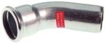 Coude à sertir 45° - Tube Acier Electrozingué - Mâle / Femelle 15 mm - Comap Xpress