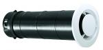 Bouche ventilation - Fixe - Diamètre 80 mm - Manchon Long - Atlantic 422146