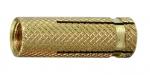 Cheville laiton 8 x 23 Filetage M6 - Spit Laiton - Boite de 100