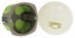 Boite cloison sèche luminaire applique diamètre 67 mm Bizline R'Box