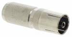 Fiche métallique femelle 9.52mm à visser sur câble 7mm