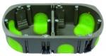 Boite cloison sèche 4 -5 modules profondeur 50 mm Bizline R'Box