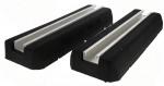 Support au sol anti-vibratiles Rubber Foot 400 x 130 x 50 mm