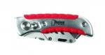 Cutter pliant ergonomique en aluminium - Bizline 700323