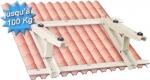 Support toiture pour groupe de climatisation