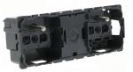 Prise de courant 2 x 2P+T - Bornes Auto - Legrand C�liane