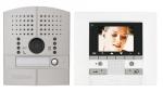 .Kit vidéo couleur Polyx Memory platine à encastrer 1 appel